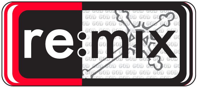 remix logo w Cross